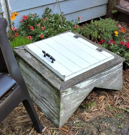 10 Best Crafty reused items - weathervane cupola garden table | StownadTellU.com