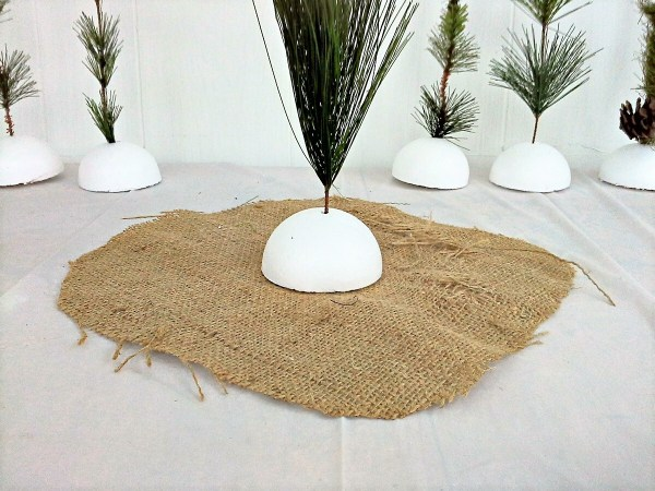 DIY Faux sapling - seedling tutorial - StowandTellU.com