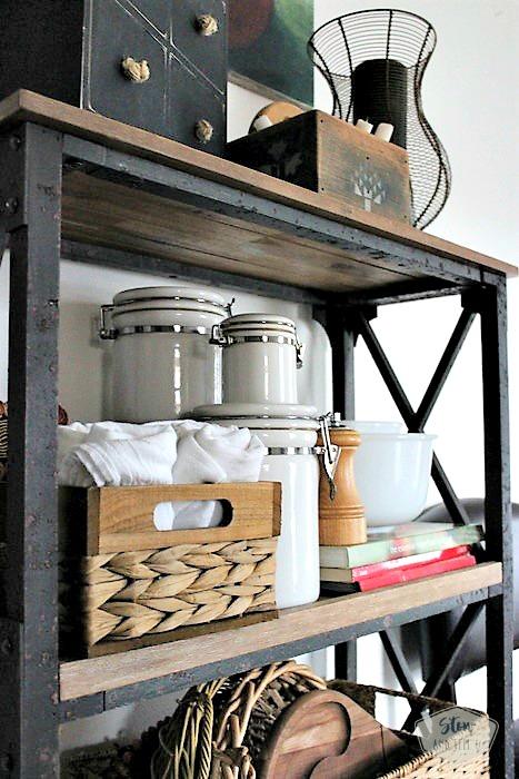 5 Tips for small space kitchen open shelving design   stowandtellu.com