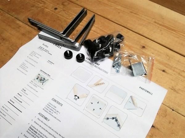 Photowall-assembly-parts