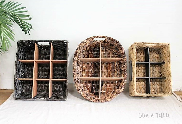 How to Make Wood Dividers for Wicker Baskets