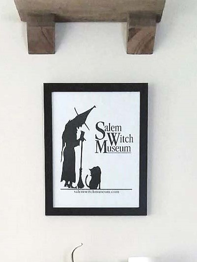 Salem Witch Souvenir Paper Bag Art