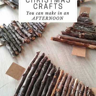 6 Nature Inspired Christmas Craft Ideas