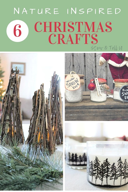 6 Nature Inspired Christmas Crafts