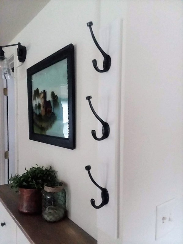 Diy Wall Mounted Vertical Coat Rack With Hooks Stow Amp Tellu