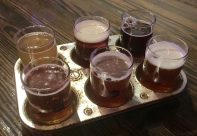 November 18, 2018 - Sampler at Epicure Brewing in Norwich, Connecticut