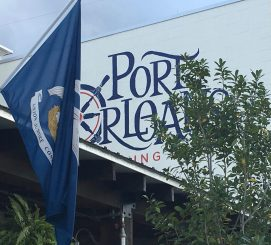 November 3, 2017 - Port Orleans Brewing Company in New Orleans, Louisiana