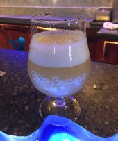February 16, 2018 - The Glow IPA at Foam Brewery in Burlington, Vermont