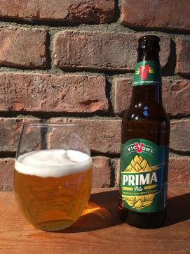 January 27, 2018 - Prima Pils from Victory Brewing Company taken in Stowe, Vermont