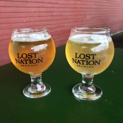 June 16, 2018 - First samples at Lost Nation Brewing in Morrisville, Vermont