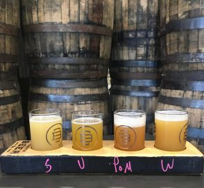 July 3, 2018 - Samples at Burlington Beer Company in Williston, Vermont