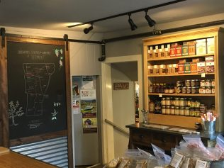 August 25, 2018 - Inside bar at Stowe Public House and Bottle Shop in Stowe, Vermont