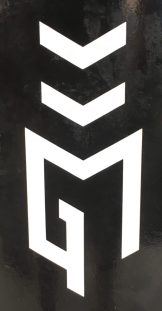 September 2, 2018 - Logo of Good Measure Brewing in Northfield, Vermont