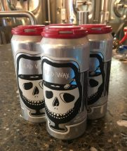 August 3, 2019 - 4 pack of Dead Wax at Foam Brewers in Burlington, Vermont