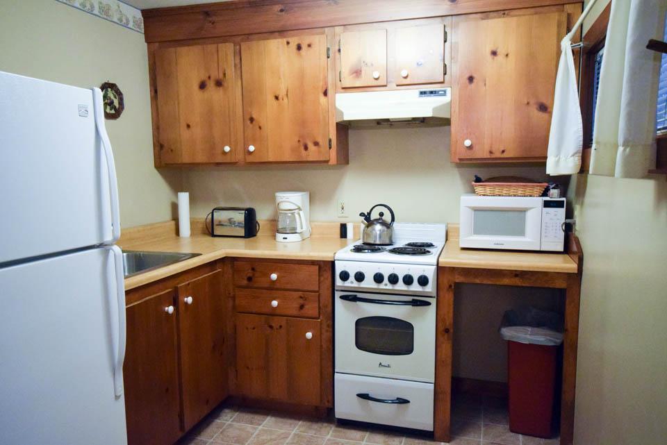 Birch Cabin Kitchen