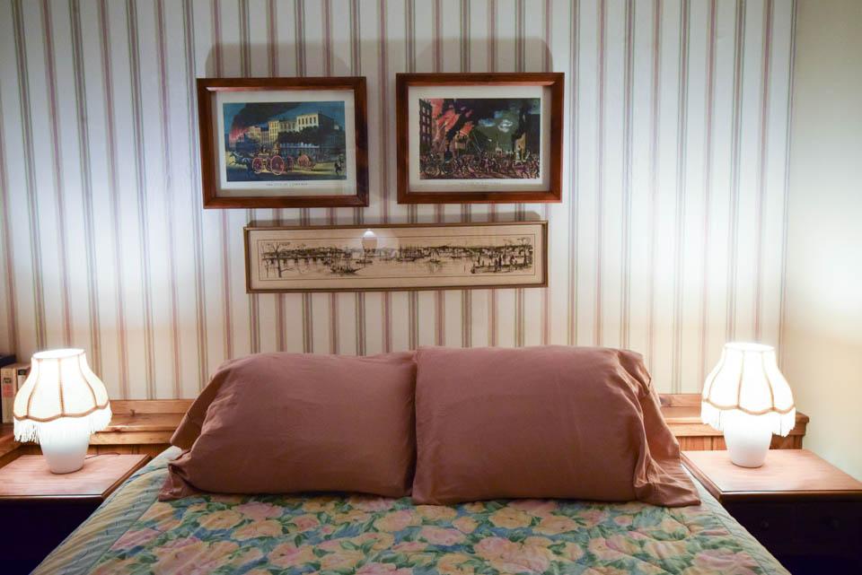 Birch cabin Stowe Vermont