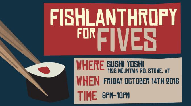 Fishlanthropy at Sushi Yoshi