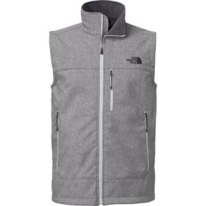 We bring our softshell vest with us everytime we go to the mountain. We don't always wear it, but if we misjudge the temp it's a quick piece to throw on to add some warmth to your core