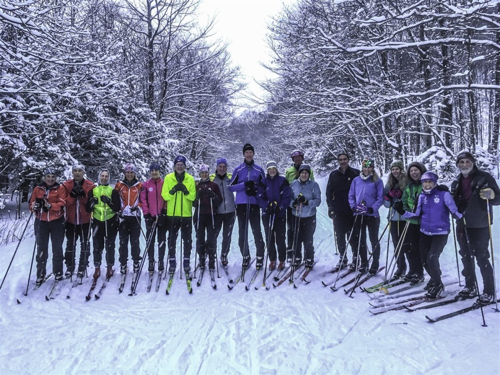 cross country skiing in stowe vermont