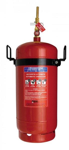 Πυροσβεστήρας ξηράς κόνεως 25kg,τοπικής εφαρμογής με πυροκροτητή