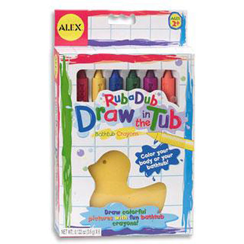 Rub A Dub Draw In The Tub 6 The Toyworks
