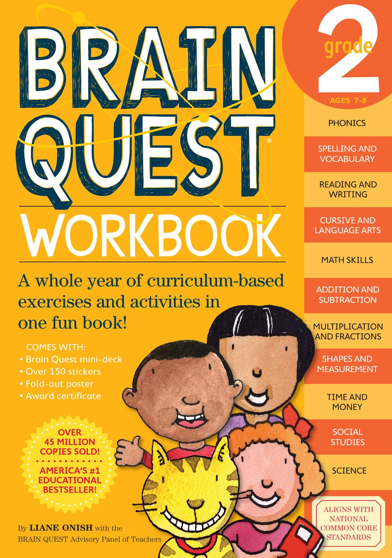 Brain Quest Workbook Grade 2 By Onish Liane