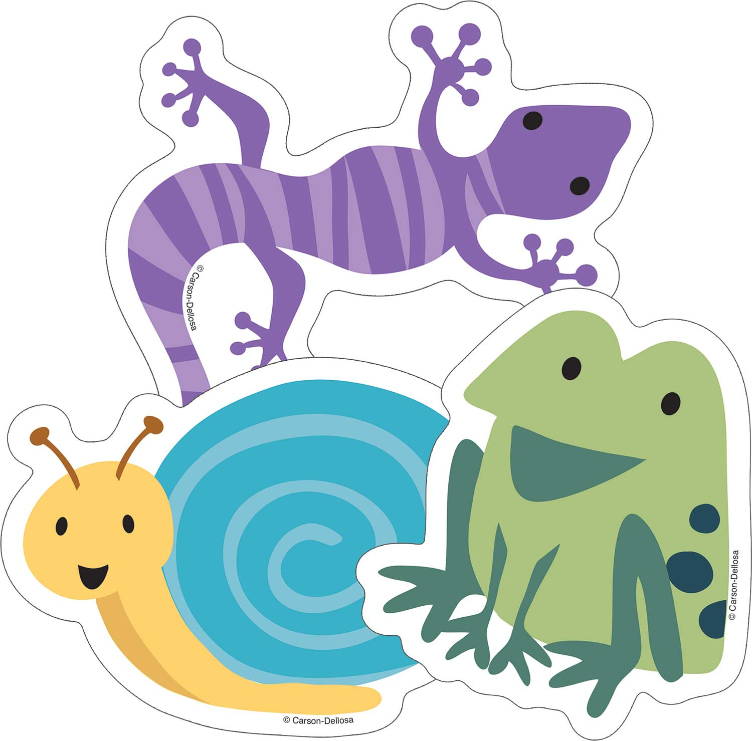 Nature Explorers Frogs Lizards Amp Snails Cut Outs