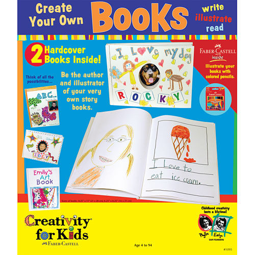 Create Your Own Books - Mary Arnold Toys