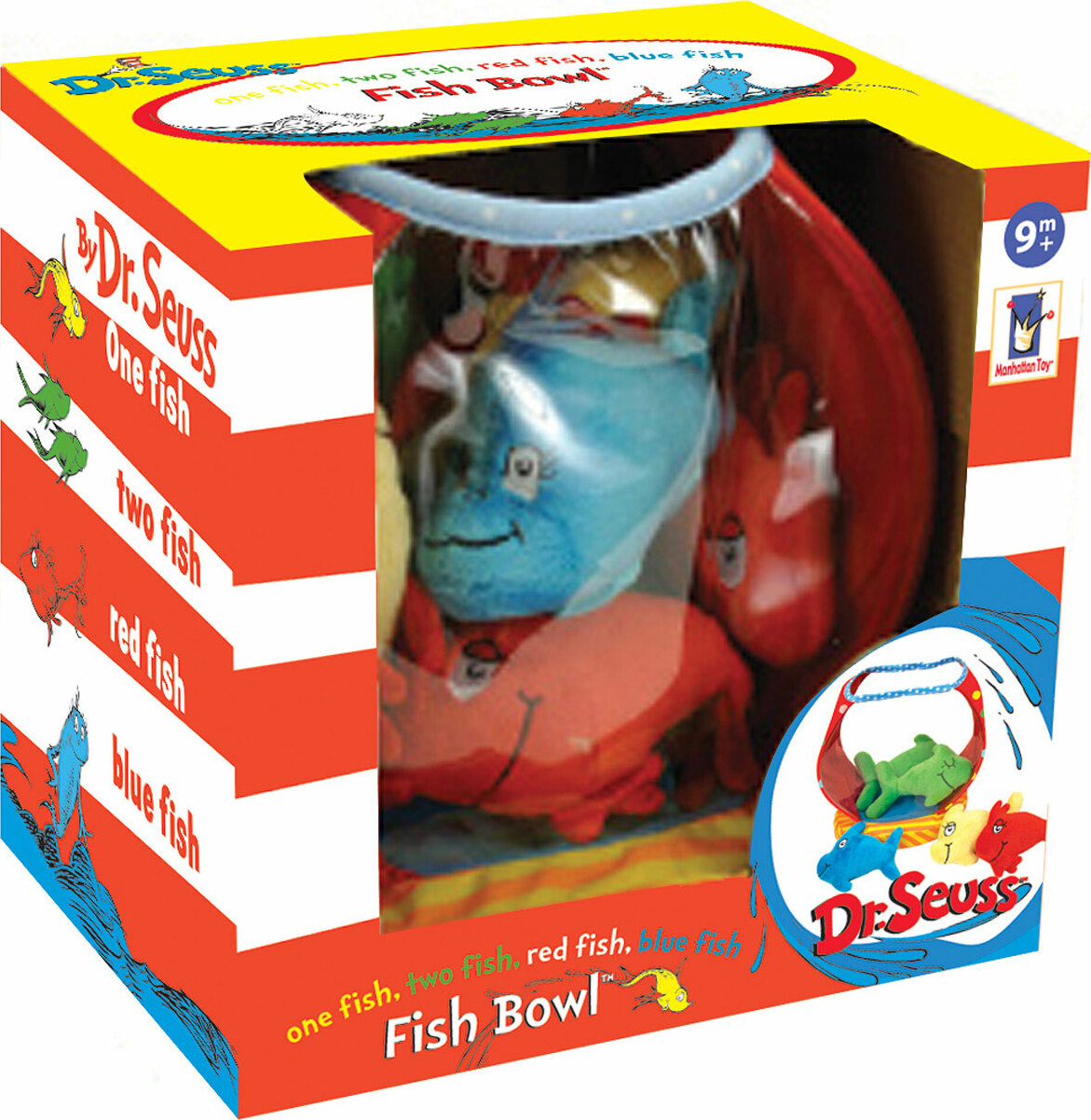Dr Seuss One Fish Two Fish Red Fish Blue Fish Fish Bowl