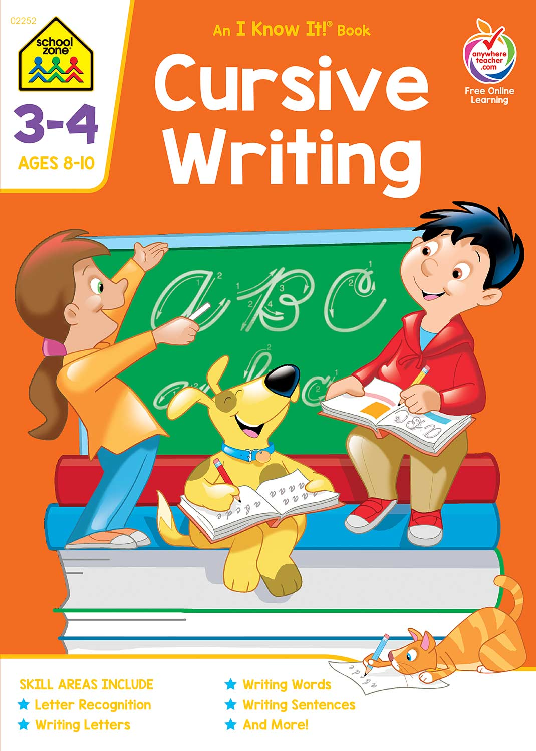 Cursive Writing 3 4 Deluxe Edition Workbook