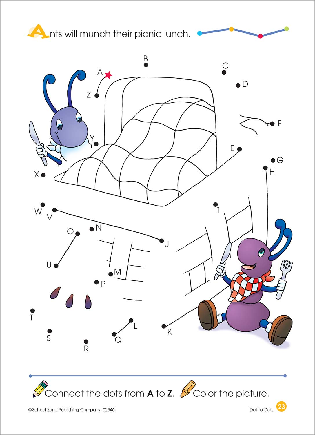 Dot To Dots Deluxe Edition Activity Zone Workbook