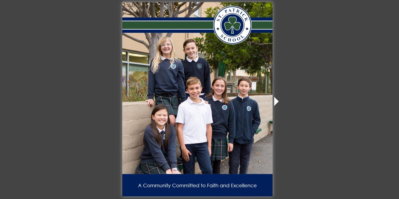 St. Patrick School Brochure