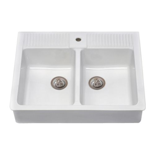domsjo double bowl sink