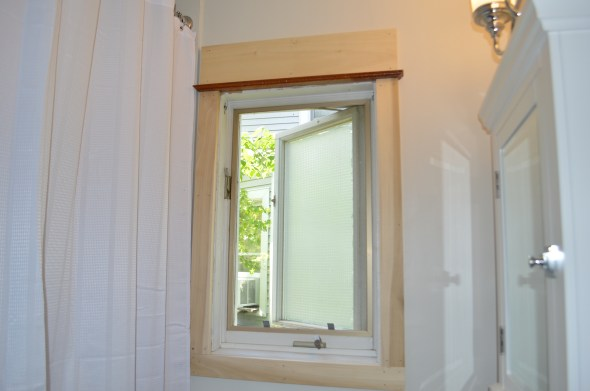 new craftsman window trim