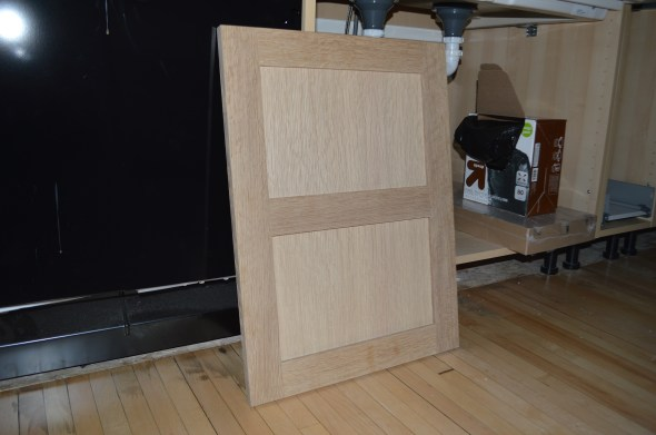 scherrs custom white oak doors