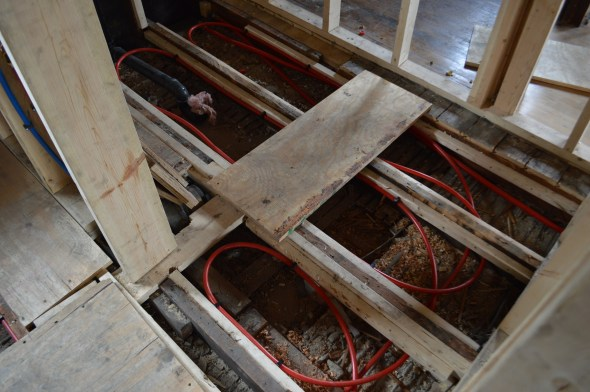 hydronic in floor heat