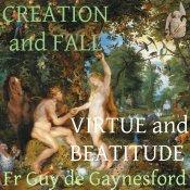 Creation Fall Virtue Beatitude Artwork for Podcast