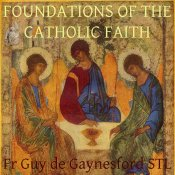 Foundations of the Catholic Faith artwork for podcast