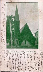 st paulspostcard 1905