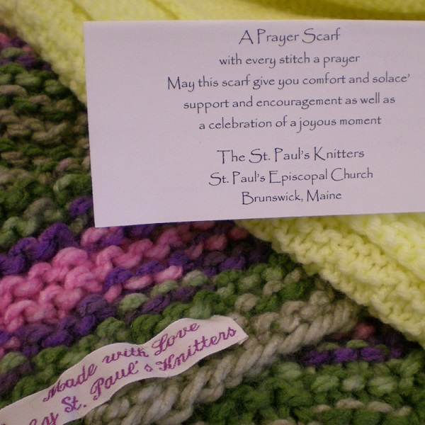 Pastoral care-prayer scarf 4st