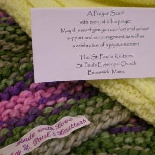 Pastoral care-prayer scarf 4st