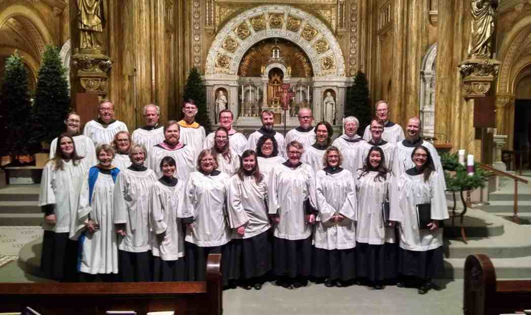 photo taken at St Rose in La Crosse, WI during Lessons and Carols