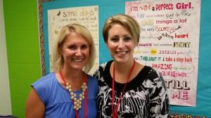 Charlotte Riesett and Callie Elwood, Sunday School Co-Directors