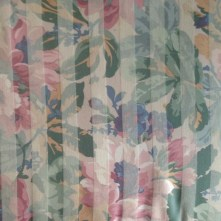 Floral Stripe Sofa detail