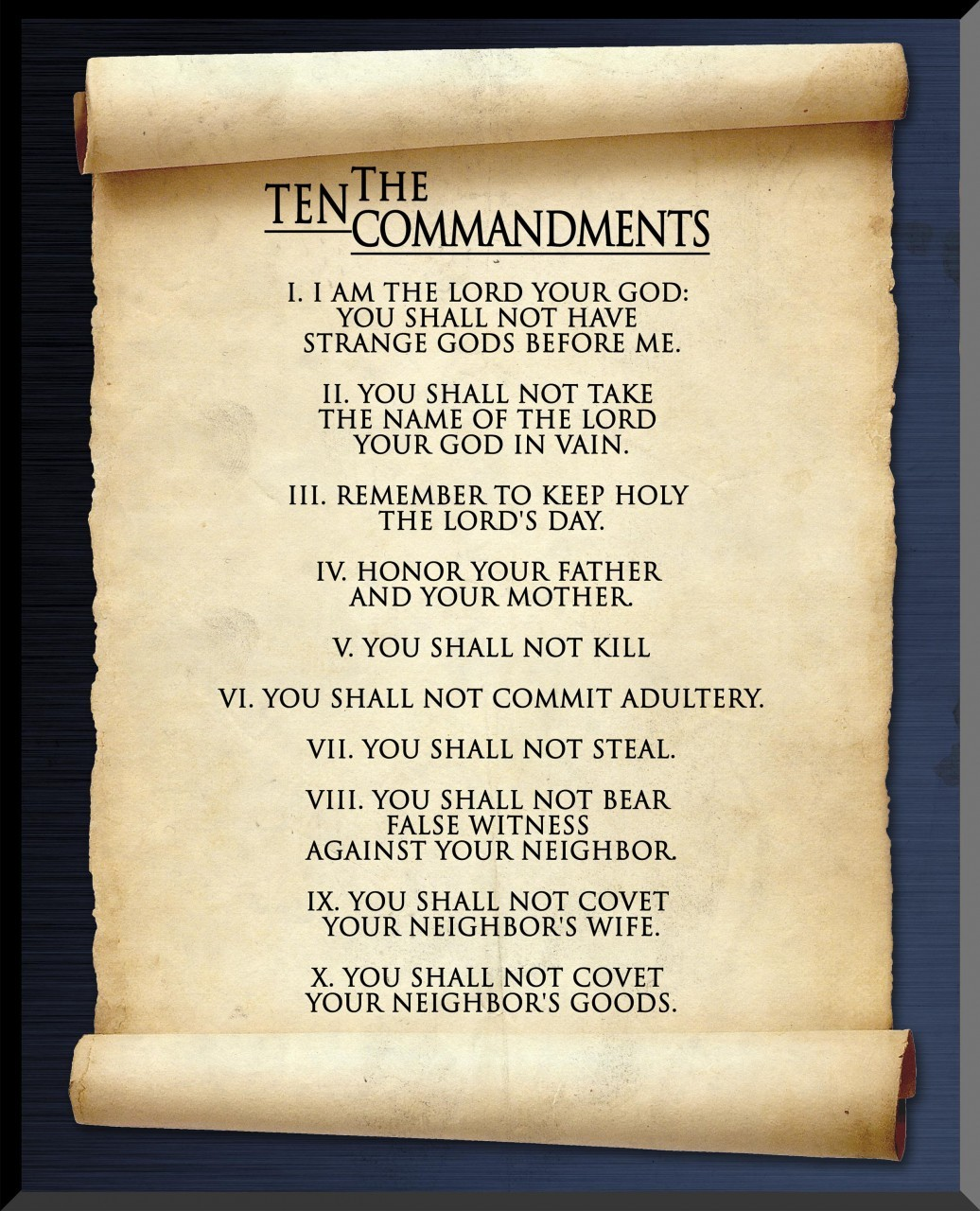 Search Results For Ten Commandments Catholic Printable