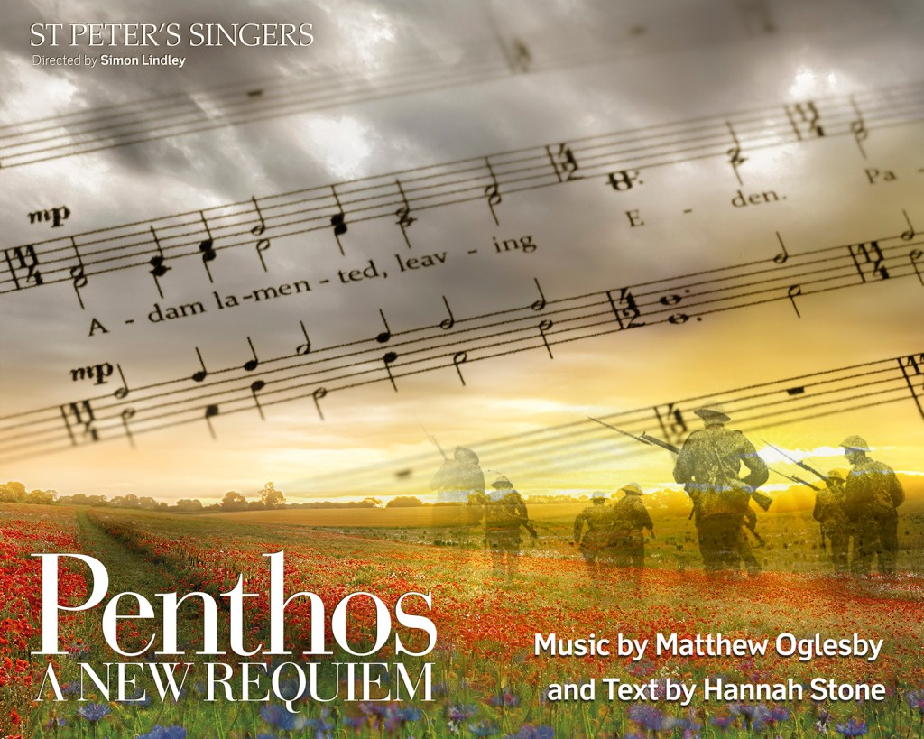 Music for Good Friday: St Peter's Singers perform Penthos, a new Requiem by Matthew Oglesby and Hannah Stone