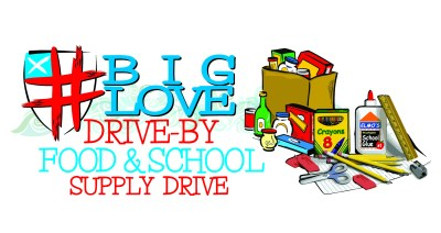 Drive-by Food and School Supply Drive