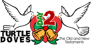 12 Crafts of Christmas – Day #2, Two Turtle Doves