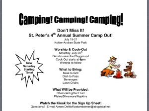 Camping weekend 7-21-13