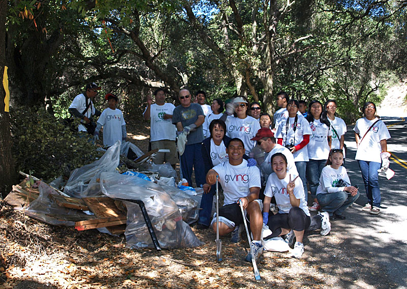 Santa Clara County Parks Volunteer Activities